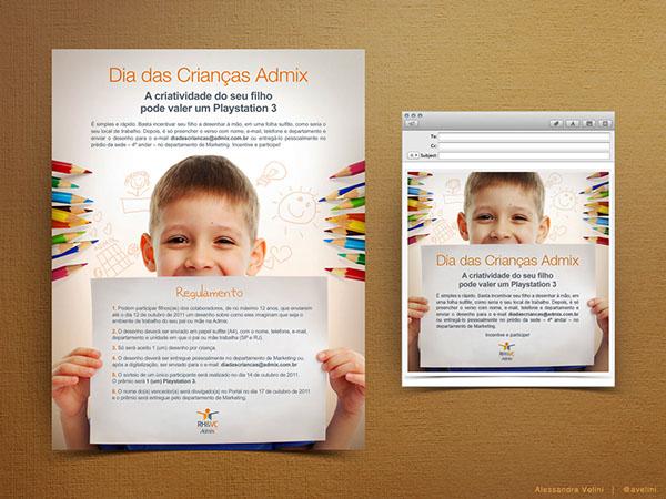 endomarketing campaign Children's Day