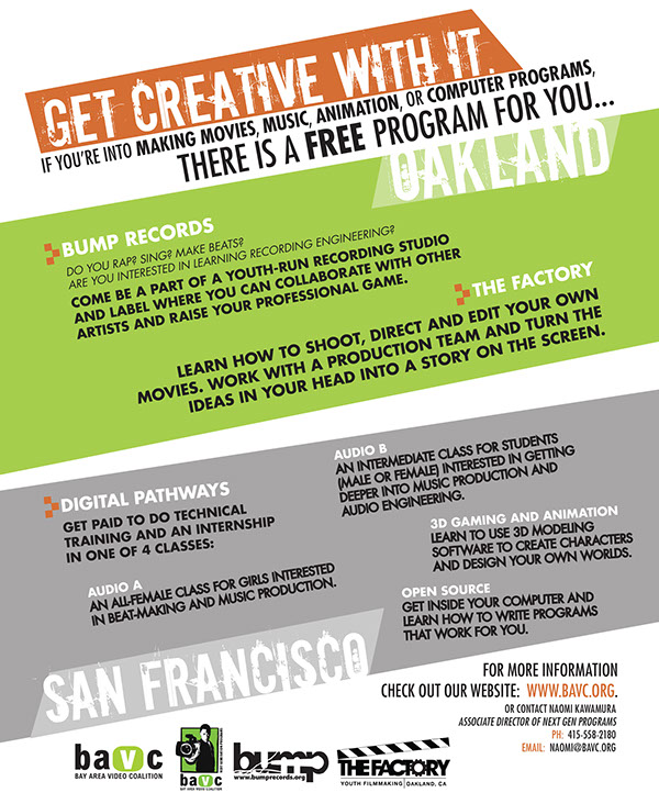BAVC Recruitment Flyer on Behance