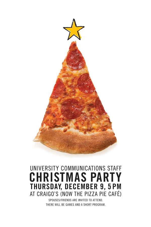 christmas invitations on behance