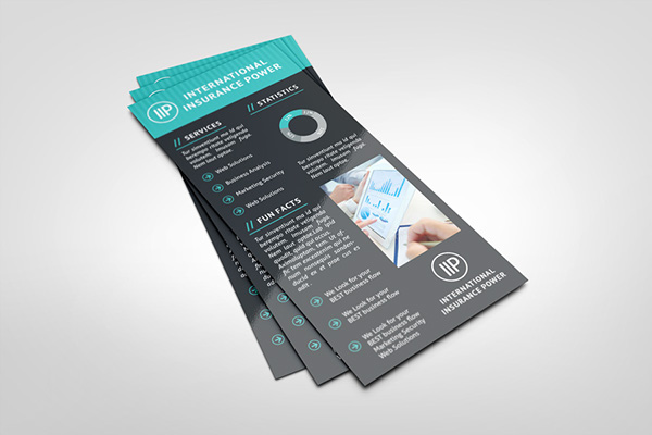 Rack Cards Templates. insurance agent rack card template design ...