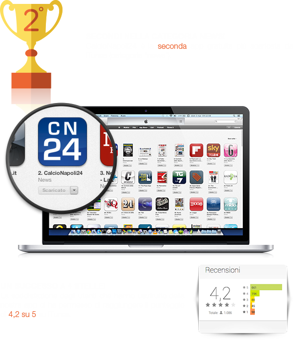soccer app iphone android ssc NAPOLI Naples mobile fans Serie A team football Players International