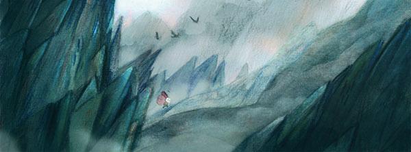 Comic Book mountain folk fairy tale adventure
