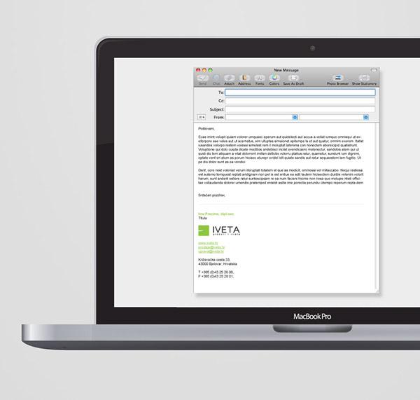 IVETA brand identity, web design and video