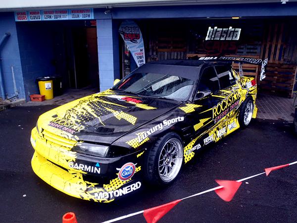 Joe Kukutai Drift Car Wrap Design On Behance