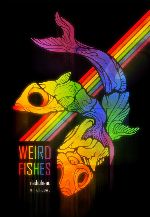 weird fishes on behance