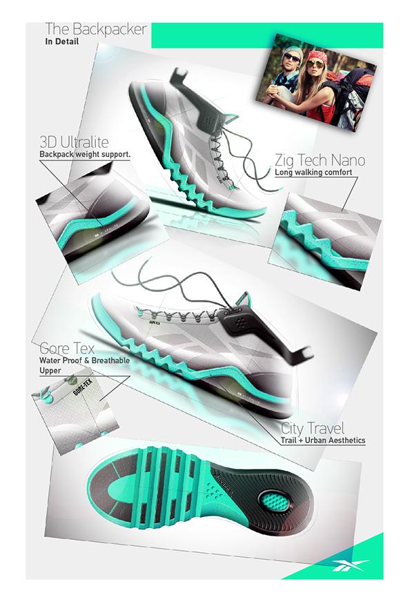 Reebok Backpacker // Footwear on Behance