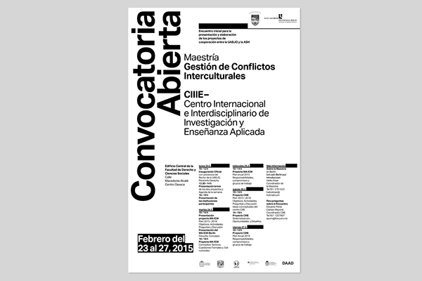 Poster deisgn,conference,mexiko,berlin,oaxaca,Social Work,Transnational,Collaboration