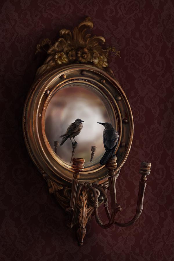 темное зеркало арты работы