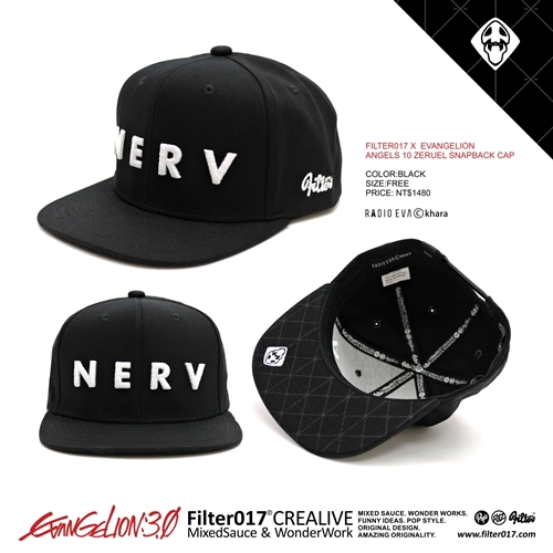 FILTER017 X EVANGELION SNAPBACK CAP on Behance 9eafc947b12