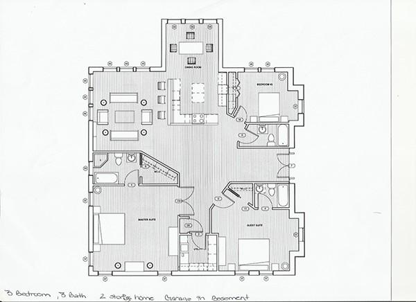 House Design 1 On Autodesk Revit On Behance