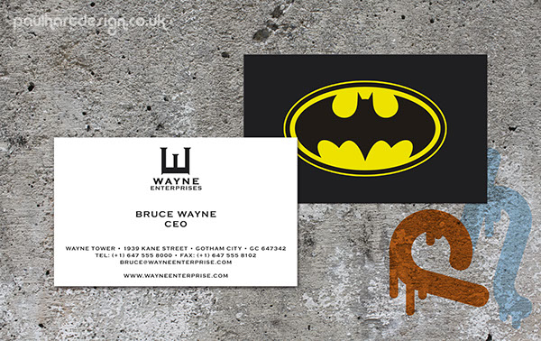 Superhero business cards on behance for Superhero business cards