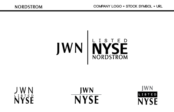 Nordstrom Logo Concepts On Aiga Member Gallery