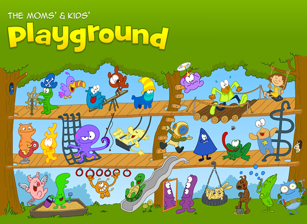 Playground Games For Kids Online