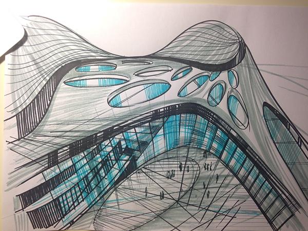 architectural sketching sketching