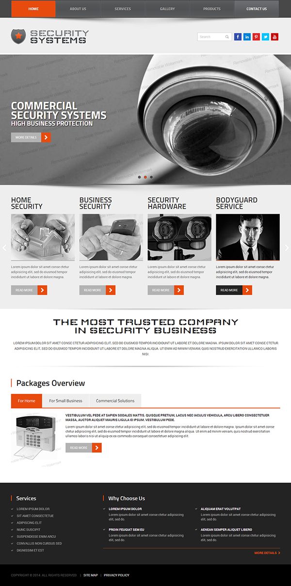Security Service HTML Template On Behance - Privacy policy html template