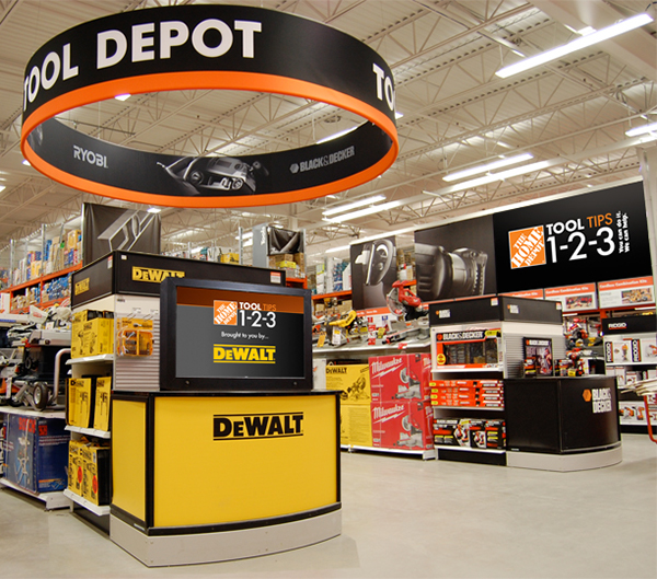 Home Depot - Digital Store Experience on Behance