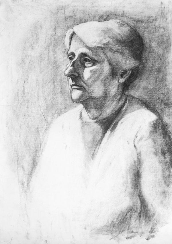 paper portrait
