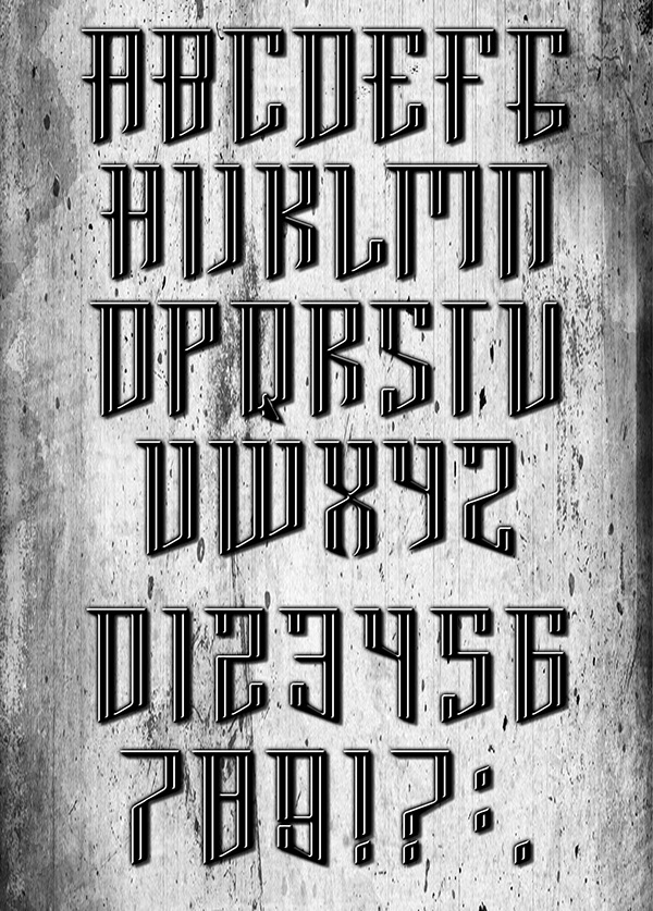 metal music grunge graffiti type type New Type Free font BrooklynCreates