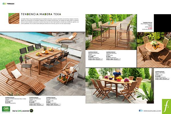 Saga falabella dco terrazas 2011 on behance for Falabella terrazas