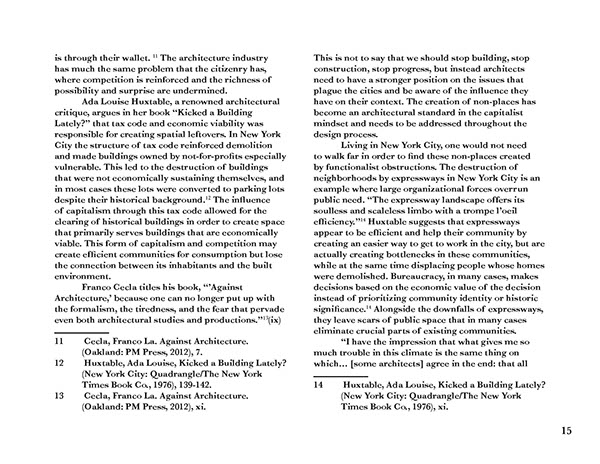 Lonely dissertation