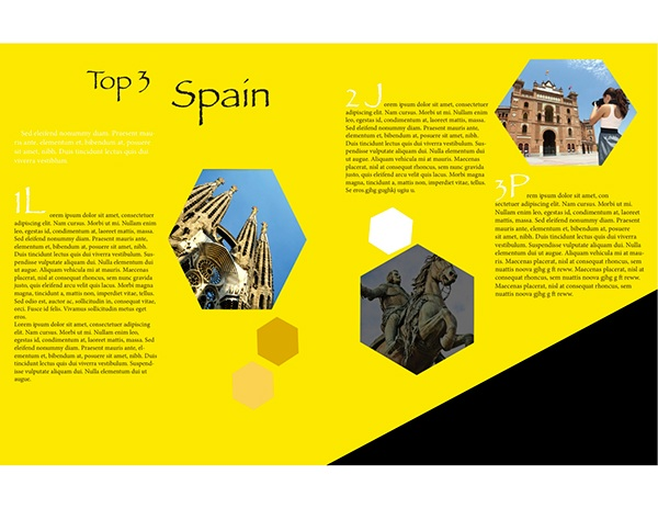 Travel Spain Brochure On Behance