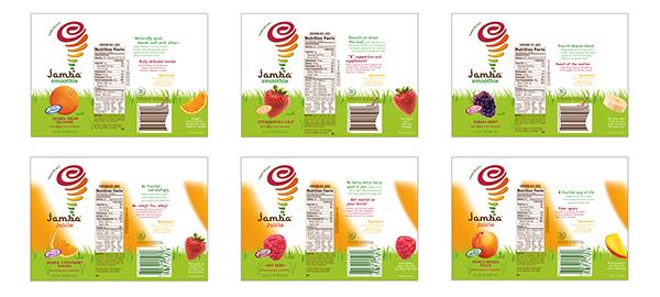 Jamba Juice Graphic Design