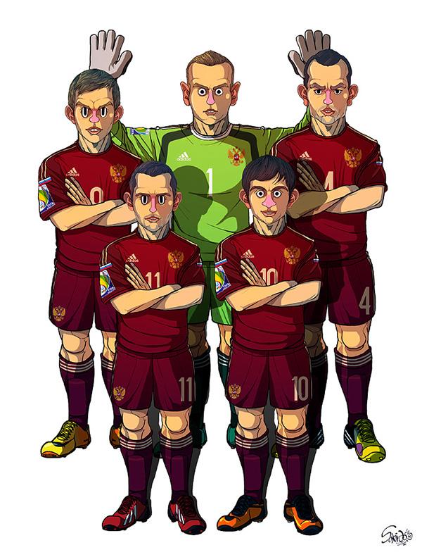 Футбольные арты 5