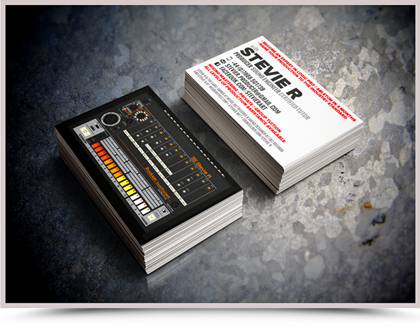Dj business card design on behance reheart Gallery
