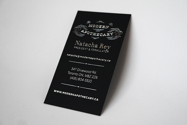 Modern apothecary business cards on behance reheart Choice Image