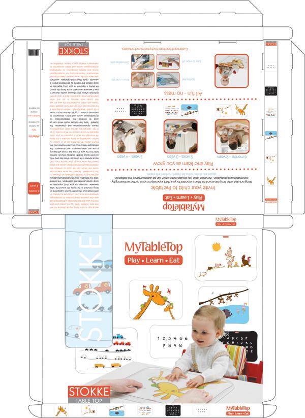 Advertising & Packaging design for Stokke on Behance