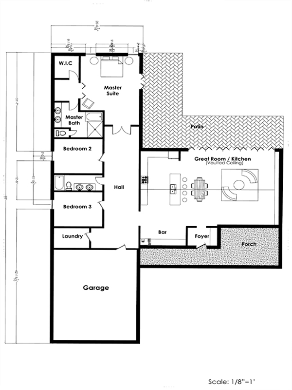 House design on behance Autocad house drawings