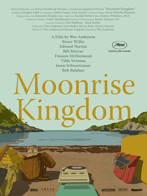 Risultati immagini per moonrise kingdom poster