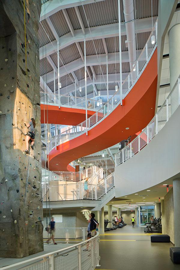 Auburn university recreation wellness center on behance - Auburn university interior design program ...