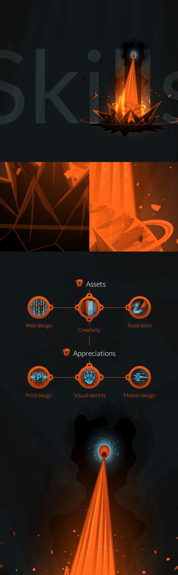skills portfolio Icon