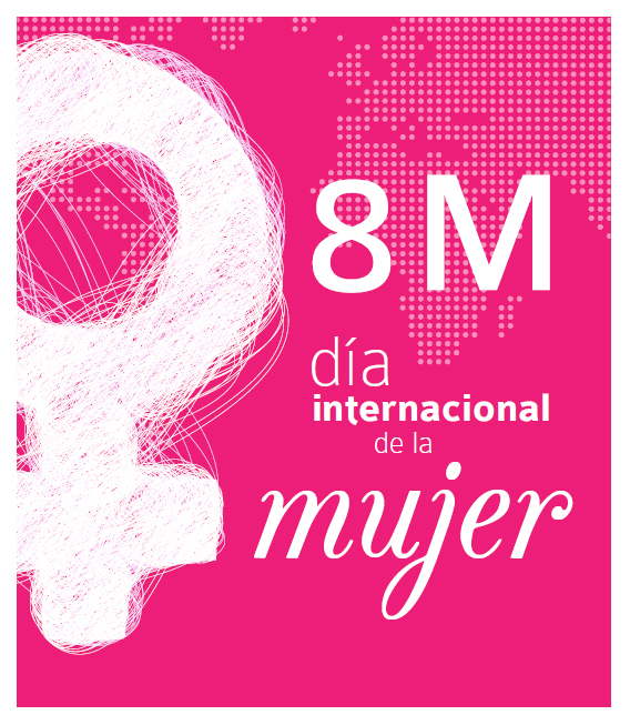 carteles dia internacional de la mujer: