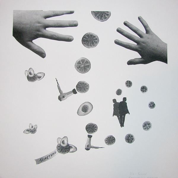 collage gestalt surreal lemon avacado Assemblage