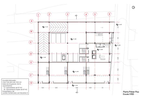Cf proyecto habitar vivienda en altura 201402 on los andes - Altura de un piso ...