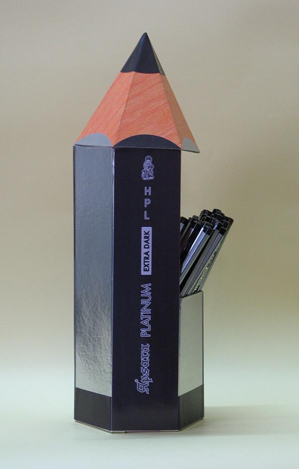 how to make a pencil dispenser