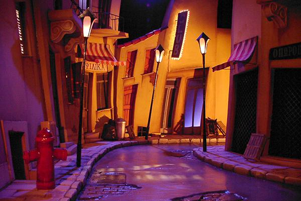 Mirror stage set design on behance for Stage 47 designhotel