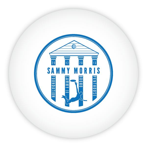 ultimate frisbee Taylor University Sammy Morris disc design