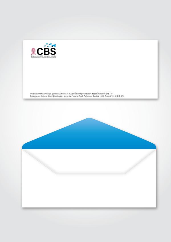 Chulalongkorn Business School (CBS) - Rebrand concept on