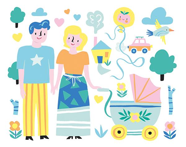 精美的21套可愛圖案設計欣賞
