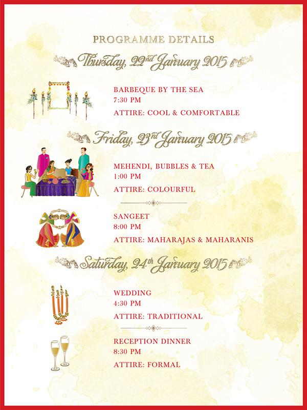 Indian Wedding Invite Design On Behance