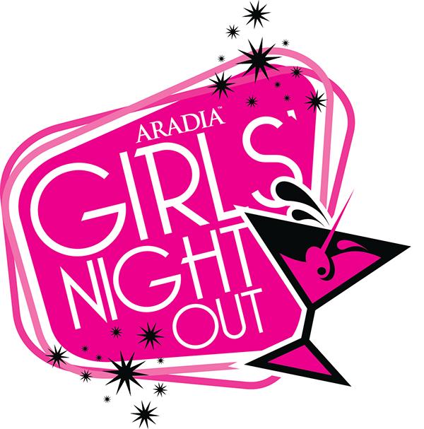 Aradia Fitness Kitchener Girls Night Out Logo on Behance
