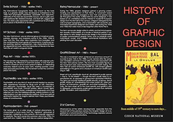 summary of history of graphic design A graphic designer is a professional within the  essential for a graphic design position after a career history has  graphic design relates.