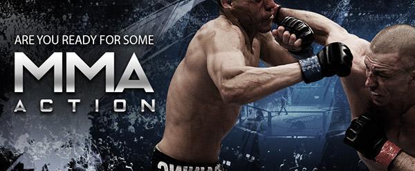 MMA fighters Martial Mix Arts