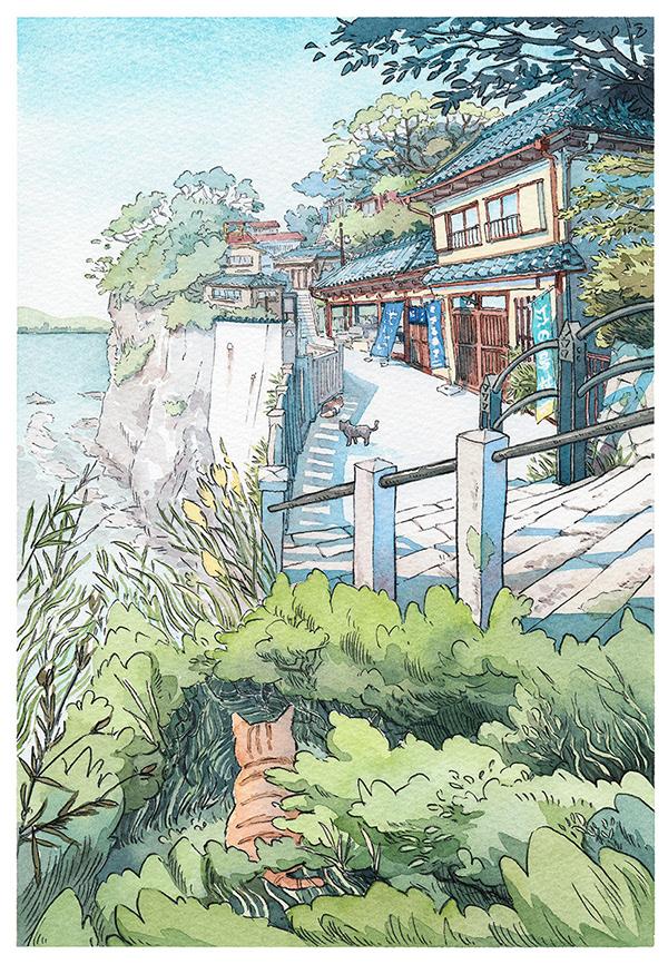極美的20個建築手繪欣賞