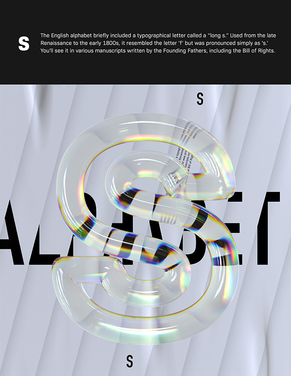 Alphabet Dispersion