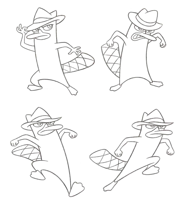 Phineas & Ferb Character Art on Behance