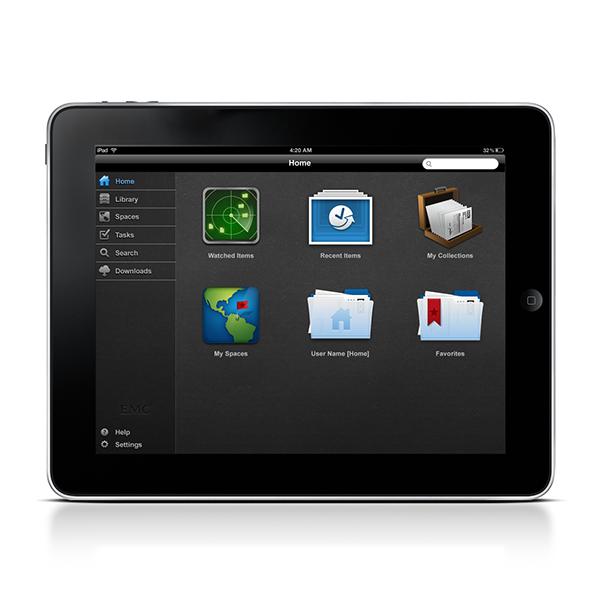 EMC Documentum Mobile on Behance